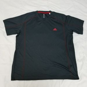 NWOT Adidas Performance Tee Shirt Mens XL Gray